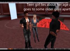 فتاة المدارس المشاغب مارس الجنس من قبل الأستاذ.
